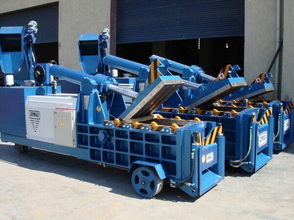 Оборудование для пакетирования и переработки металлолома
